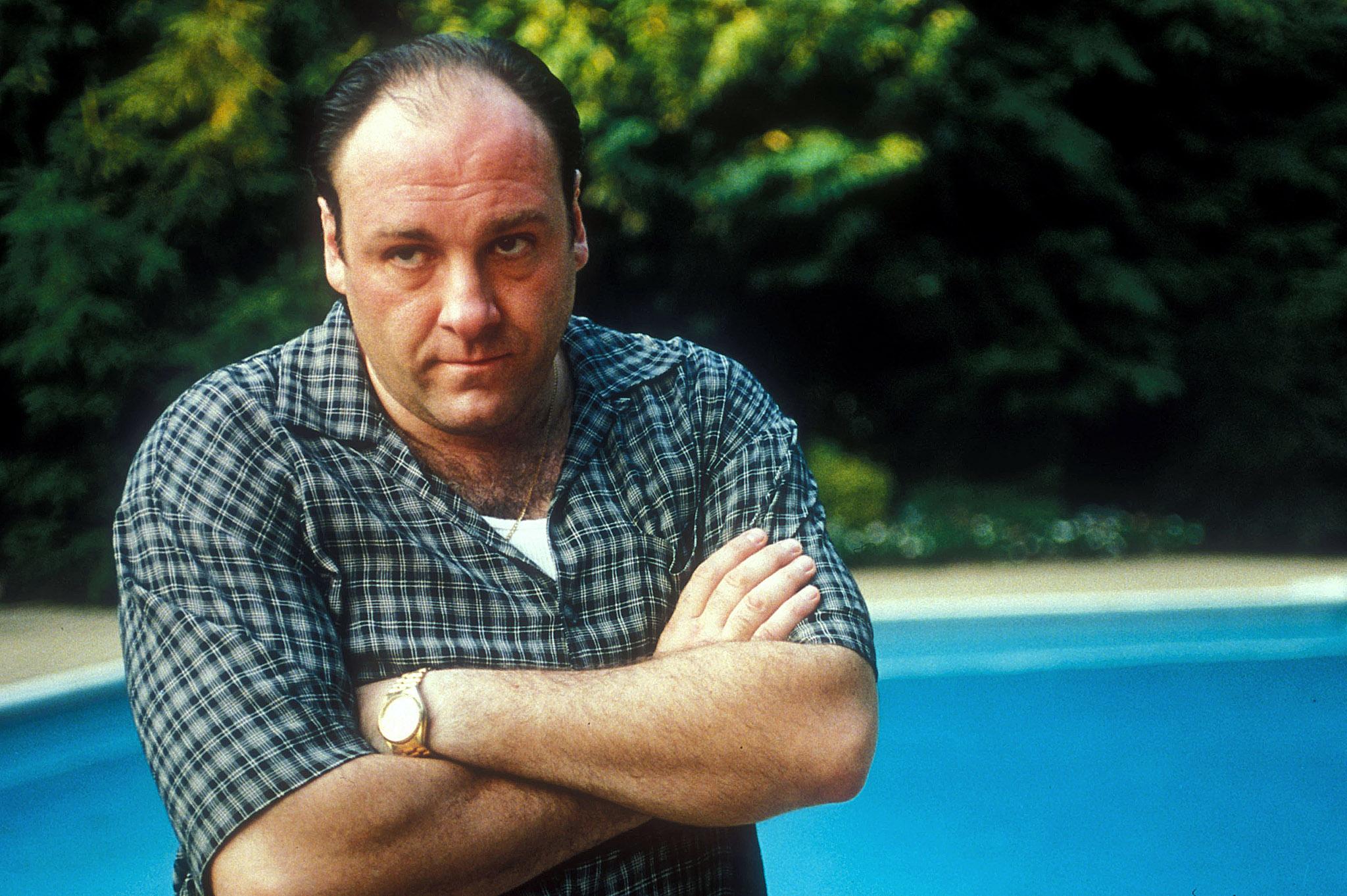 Tony Soprano as portrayed by the late great James Gandolfini